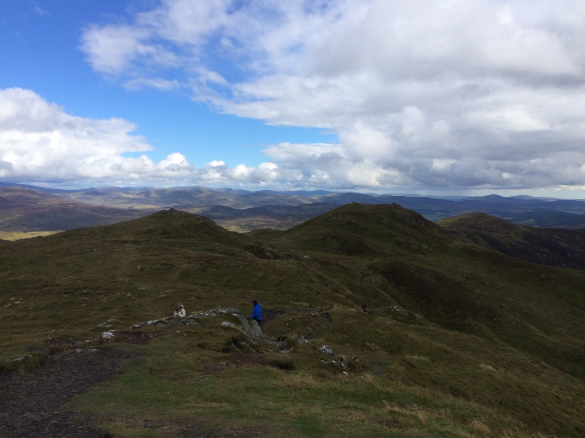 A Bimble Up A Windy Ben Vrackie Mountains And Malbec